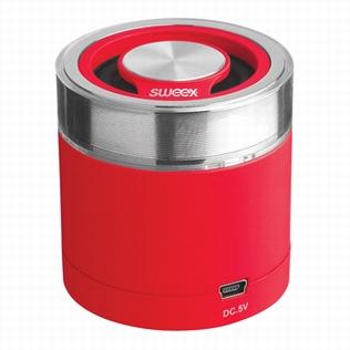 Sweex Bluetooth Draagbare Speaker Rood