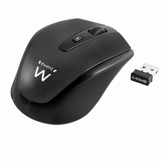 Ewent Wireless Optical Mouse met DPI switch Nano receiver