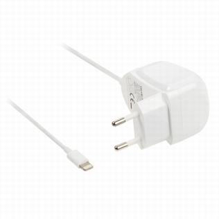 Valueline Lightning AC Adapter voor Apple 1m wit