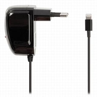 Valueline Lightning AC Adapter voor Apple zwart 1m
