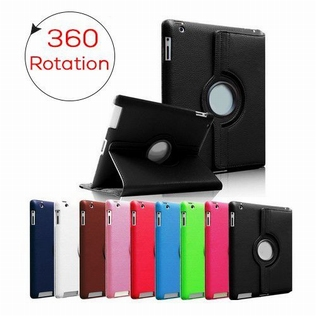 360 Rotation Protect Case IPad Air 2 zwart