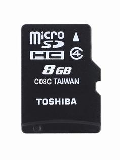 Toshiba MEM Micro SD Class 4 8GB