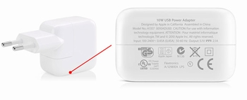 Apple 10W USB Power Adapter (A1357) origineel