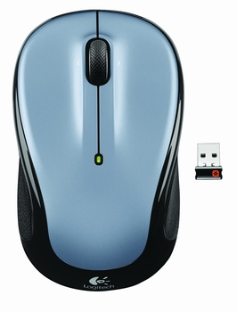 Logitech Wireless Mouse M325 Light Silver
