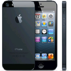 iPhone 5 16GB Black with headset, usb cable & EU adapter