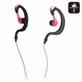 NGS Water Resistant Stereo Earphones Pink