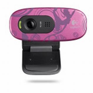 Logitech C270 HD Webcam Pink Balance