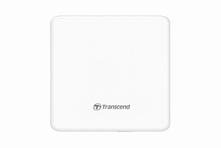 Transcend DVD 8x External Slim USB 2.0 White