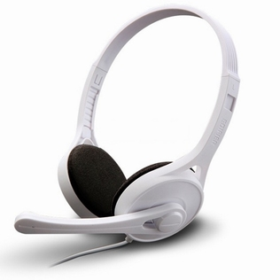 Edifier HS Gaming On-Ear RMS White