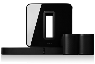 Sonos 5.1 Surround-sound Pakket met Playbase en One