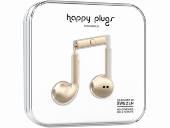 Happy Plug Earbud Plus Headphone Beige