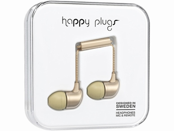 Happy Plug In-ear Headphone Beige