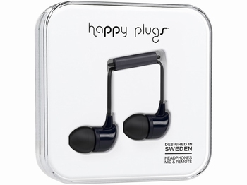 Happy Plug In-ear Headphone Black
