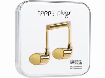 Happy Plug In-ear Headphone Gold