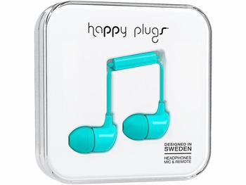 Happy Plug in-ear Headphone Turquoise