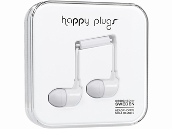 Happy Plug In-ear Headphone White