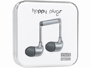 Happy Plug in-ear Headphone Zilver