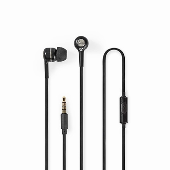 Nedis In ear Headphones en hands-free bellen Black