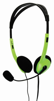 Basic XL Stereo Headset Green