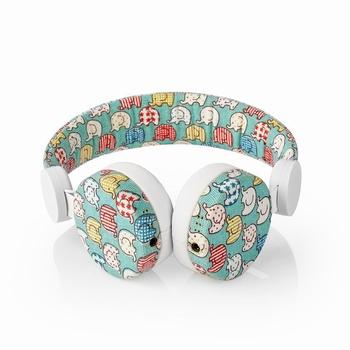 Nedis On-Ear Headphones 3.5mm 1.2m