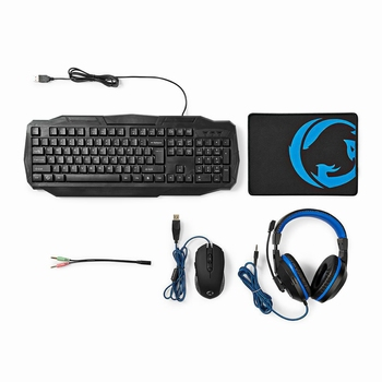 Nedis Upio 4-in-1 Gaming Combo Kit