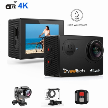 DveeTech Ultra HD 4K Action Camera
