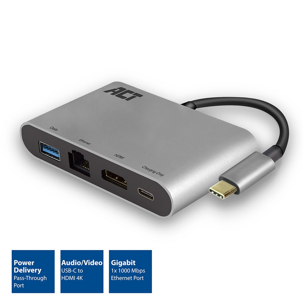 ACT USB-C 4K Multiport Dock
