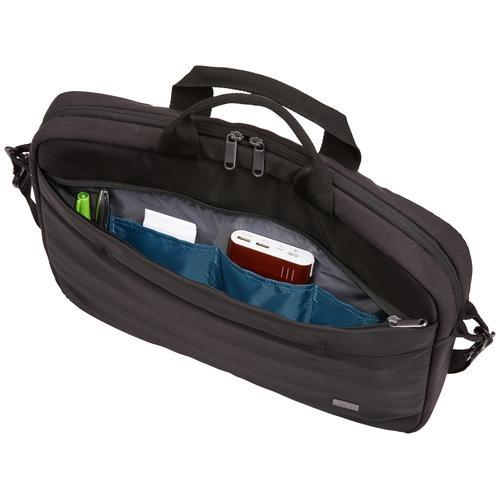 """Case Logic Advantage Laptop Attache 14"""" Black"""