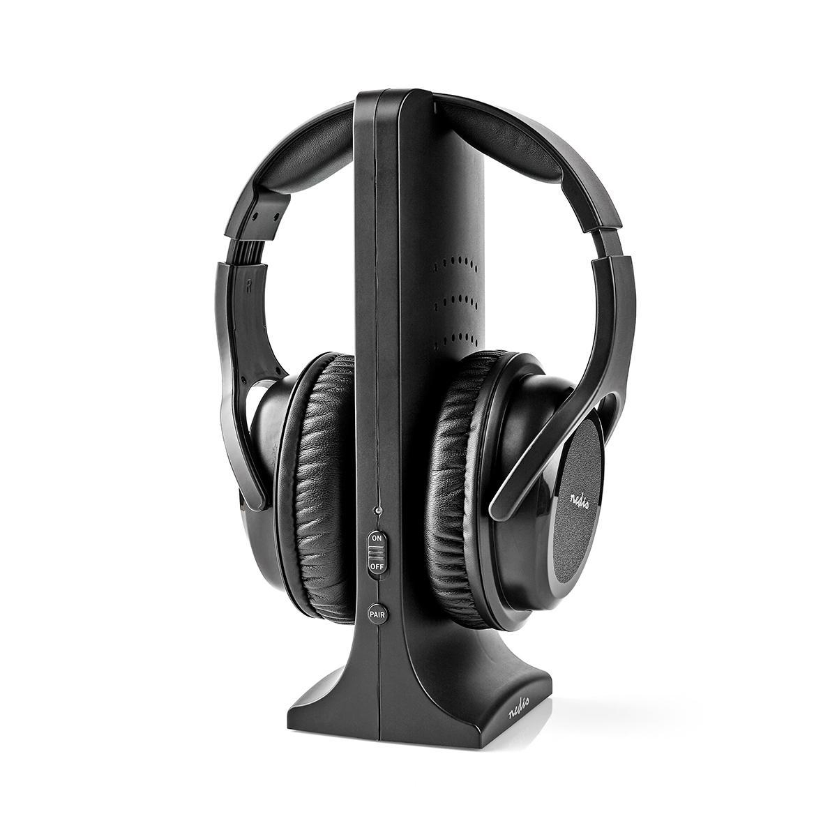 Nedis Over-Ear Headphone Black