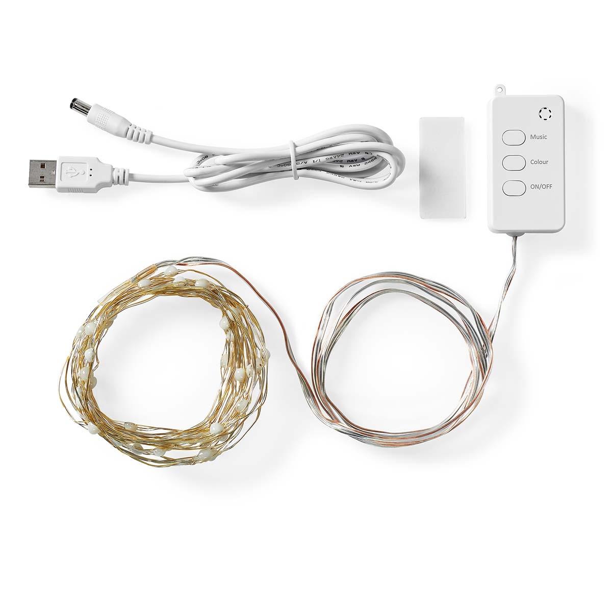 Nedis SmartLife Gekleurde LED-strip