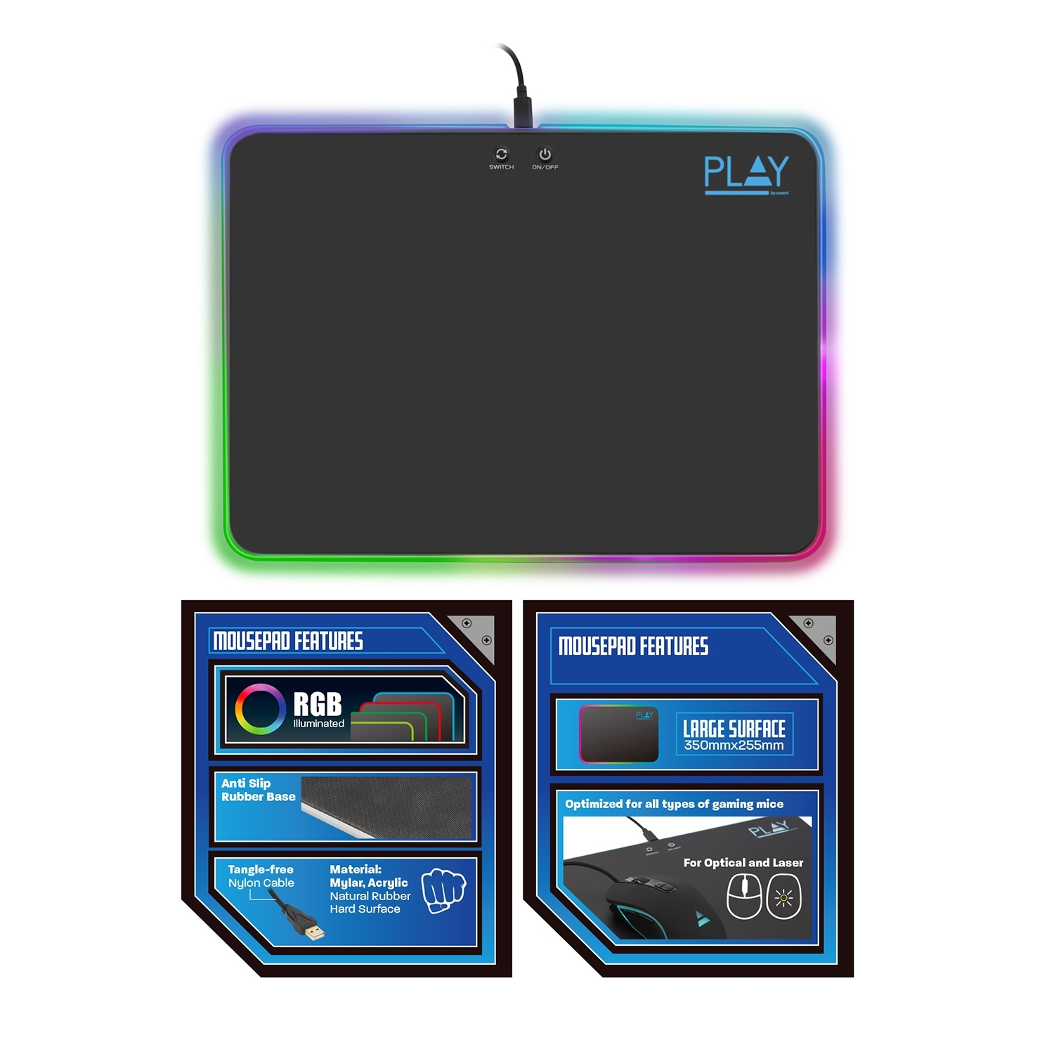Play Ewent Gaming Mousepad