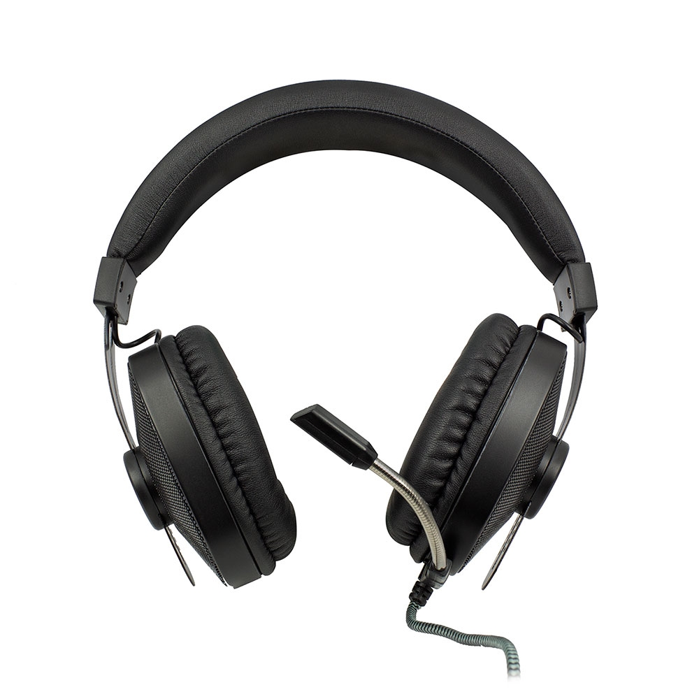 Play Over-ear Gaming Headset met microfoon en RGB leds