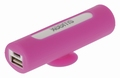 Sweex Draagbare Powerbank Lithium-Ion 2500 mAh USB Roze