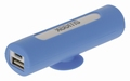 Sweex Draagbare Powerbank Lithium-Ion 2500 mAh USB Blauw