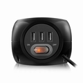 Ewent Power Block with 3 USB Ports Black